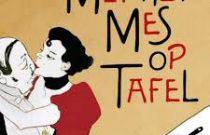 Logo van de tv-quiz Met Het Mes Op Tafel.